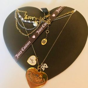 Juicy Couture Charm Necklaces 💜💕💜💕